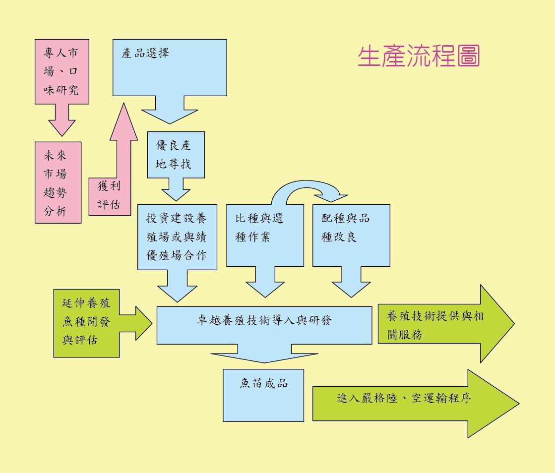产品生产流程图