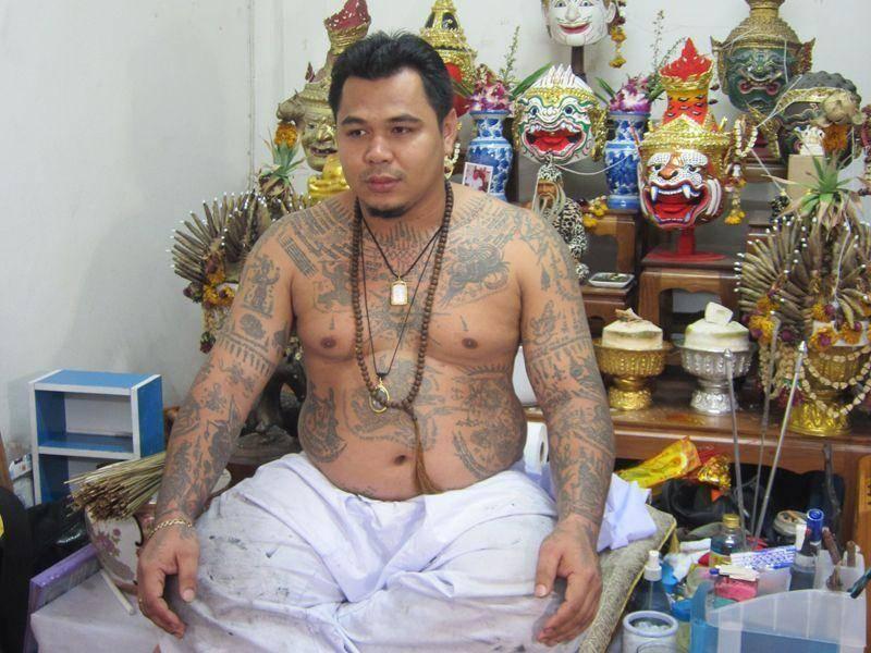 阿贊布依大師在泰國的法壇