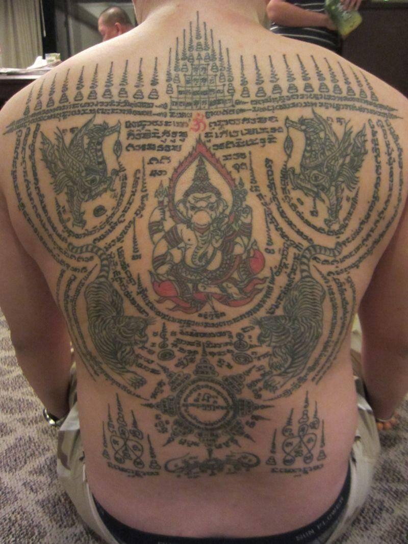 阿贊布依大師刺青作品美圖