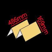 歐2K彈簧三摺式菜單製作
