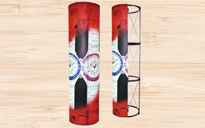 油性單透布輸出後只呈現單面圖文效果,適合用於橫布條、拍照背板使用