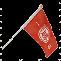 手拿旗,宣傳旗