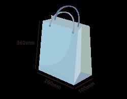 加厚對開紙袋訂製