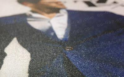珍珠緞布具有絲綢質感、較柔軟、具有光澤。適合製作成簽名綢
