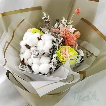 《綿綿情意》真情乾燥花束