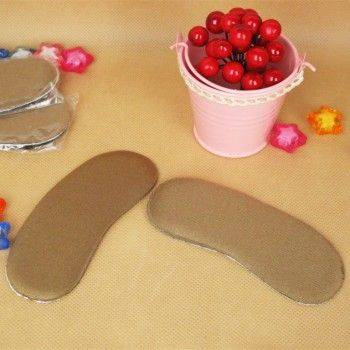 小物宅配-2入彈性加厚海綿後跟貼/護腳貼/保護腳跟貼 防磨腳 半碼貼 Lohogo樂活趣