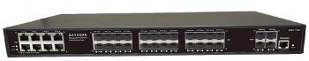 L2+ 網管型光纖網路交換機 8*10/100/1000M 電口+ 24*100/1000M 光口+4*1/10G光口