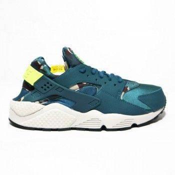 Nike WMNS AIR HUARACHE RUN PRINT 725076 301【119 小鋪】