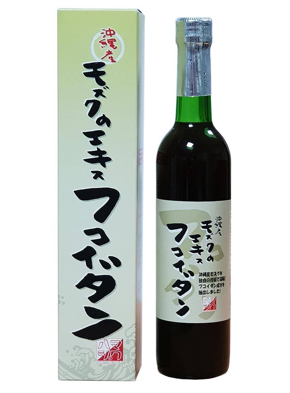 褐藻糖膠日本原裝進口,褐藻醣膠沖繩海蘊,液體好吸收 (500ML)