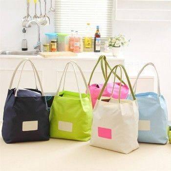 小物宅配-加厚防水便當袋/手提購物袋/野餐便當包/手提袋/布藝購物袋/加厚防水購物袋 Lohogo樂活趣