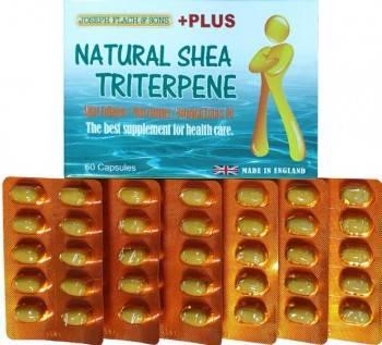 英國進口 天然 乳木果油三帖類植物性軟膠囊【全素配方】【60粒/盒裝】