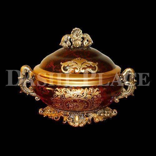 皇家尊爵手工彩繪-圓滿聚寶盆 0223-001