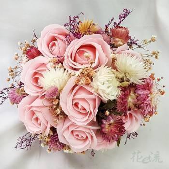 浪漫乾燥花新娘捧花