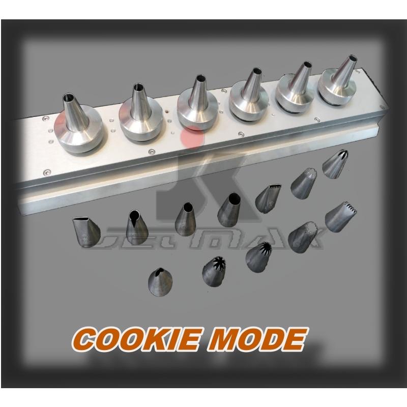 PLUS TYPE / Multidrop Depositor / CAKE MODE / COOKIE MODE / DX805-PLUS