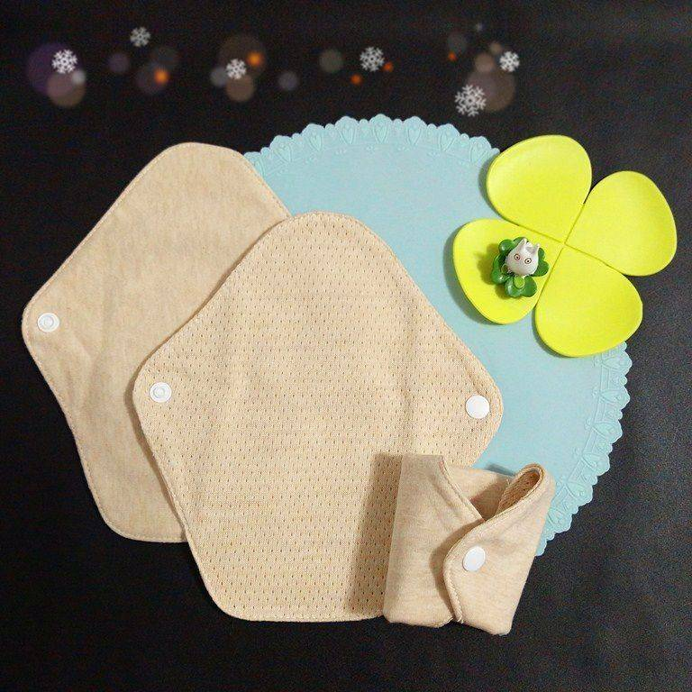 Lohogo 薄型布衛生棉/有機環保可洗護墊(小號18cm)環保可重覆使用 Lohogo樂馨生活館推薦