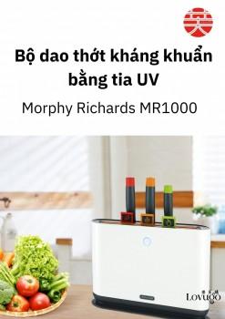Bộ dao và thớt kháng khuẩn Morphy Richards 7 món