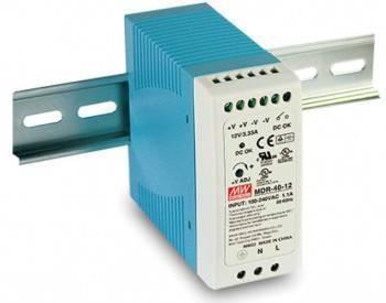 DIN Rail 軌道式電源供應器 40W/DC24V (MDR-40-24)