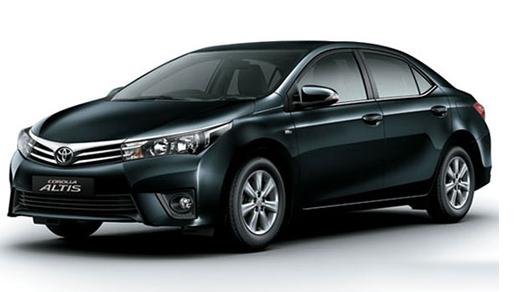 ALTIS (5人座車)加入會員更低價