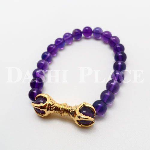 五鈷福鍊-紫水晶