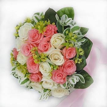手綁新娘捧花