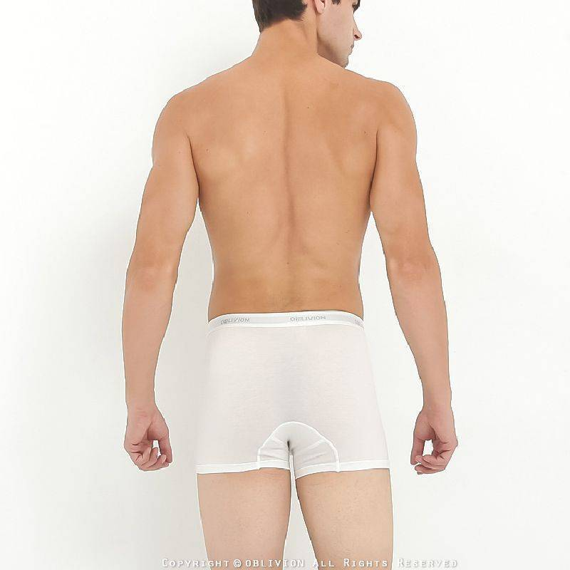 男透氣舒適側開孔中腰平口褲