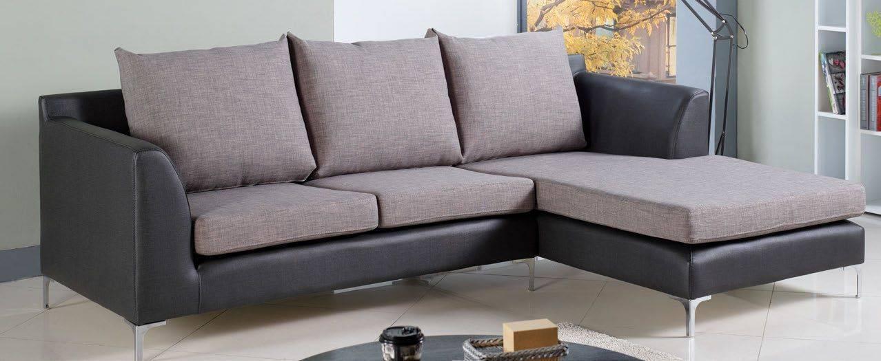 B018-178-4摩根 L 型雙色沙發—左 L