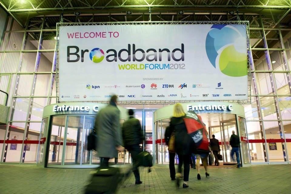 芯邦參加Broadband world forum 2013