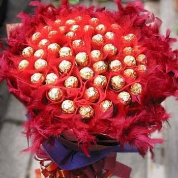 【限時特價】《濃濃深情》50朵金莎花束