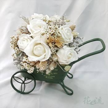 《愛情推手》手板車裝飾乾燥花