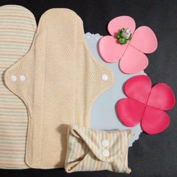 Lohogo 薄型布衛生棉/有機環保可洗量大衛生棉(L大號28cm)環保可重覆使用 Lohogo樂馨生活館推薦
