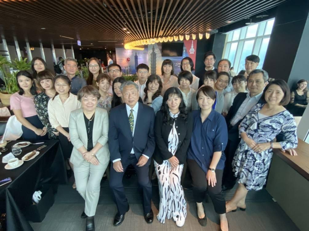 台北101 -88Bar餐廳 西餐禮儀課程與實作