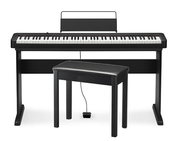 【金匠樂器】CASIO CDP-S110數位鋼琴(14000元、含木質架,可放電池)
