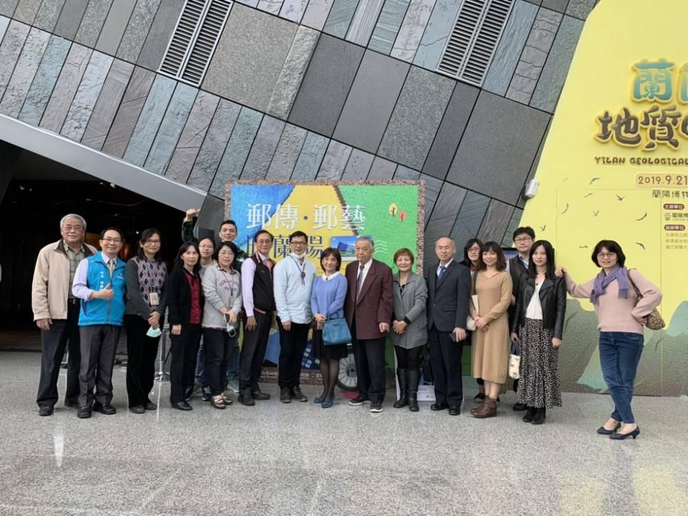 蘭陽博物館12日起展出「郵傳‧郵藝映蘭陽」郵票展