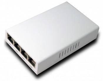 非網管型光纖網路光電轉換器 10/100/1000 Base-T x5端口  1000 Base-X x1端口系列