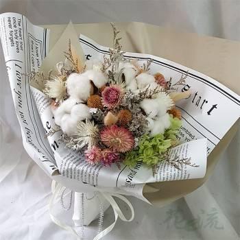 《純真愛情》乾燥花束