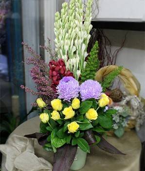《亭亭風姿》盆花