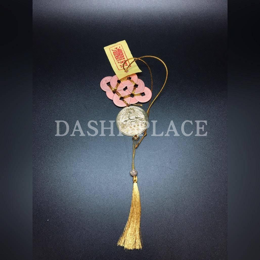 2019東北-仙鶴福壽.八銅錢二黑化病符 2019013