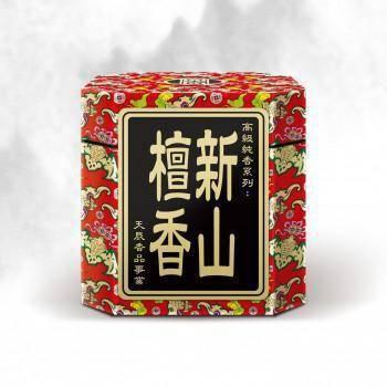 新山檀香 / 微煙 3.5H 小盤香