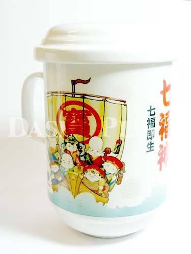 七福神濾杯-寶船 008-8