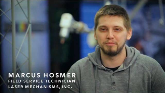 Video : Meet Marcus Hosmer,Field Service Technician at Laser Mechanisms