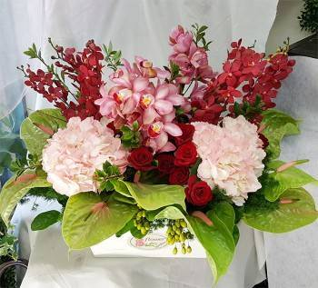 《吉祥如意》精緻桌上盆花