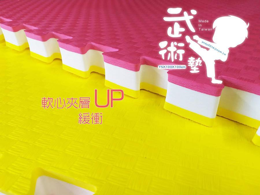 緩衝UP /【武術5CM】100x100cm
