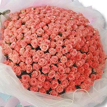 《天天想你》365朵玫瑰求婚花束