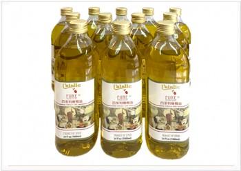 百多利橄欖油100%PURE 1L 12入