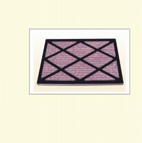 蜂巢式顆粒活性碳濾網