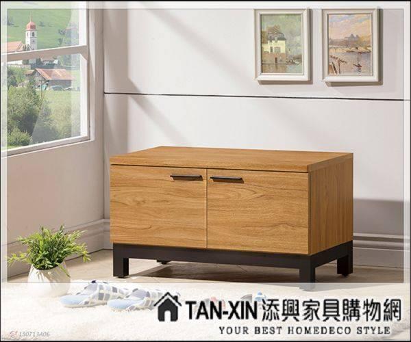 【添興家具】J555-4 優植2.64尺坐式鞋櫃 另售它尺 ~大台北區滿5千免運