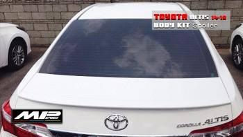 2014-2018 Toyota Corolla Altis Trunk Spoiler