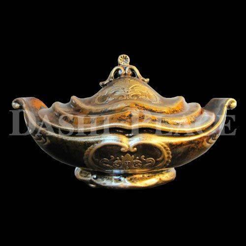 皇家尊爵手工彩繪-元寶聚寶盆 0223-002