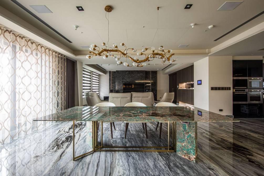 【設計家專訪報導】豪華度全面升級!大理石之美 活化住宅生命力