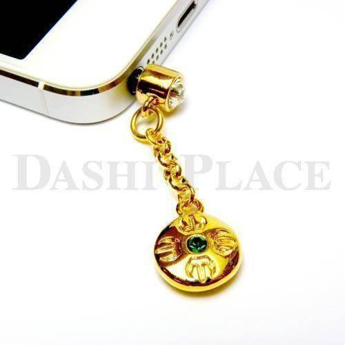 手機吊飾-金綠-羯摩